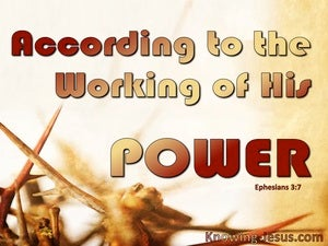 Ephesians 3:7