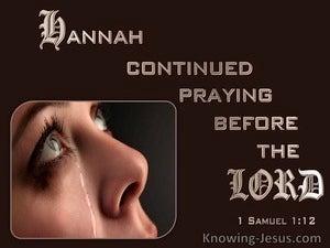 1 Samuel 1:12