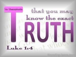 Luke 1:4