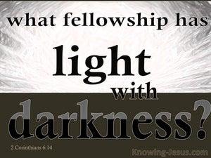 2 Corinthians 6:14