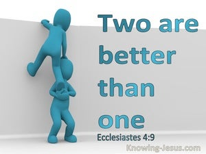 Ecclesiastes 4:9