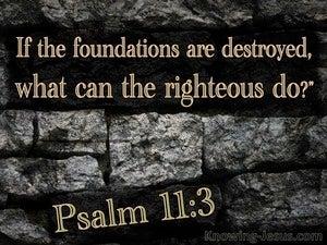 Psalm 11:3