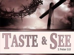 1 Peter 2:3