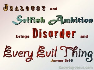 James 3:16