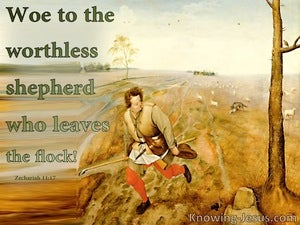 Zechariah 11:17