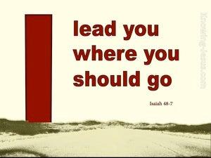 Isaiah 48:7