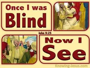 John 9:25