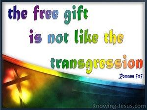Romans 5:15