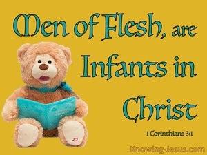 1 Corinthians 3:1