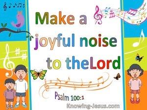 Psalm 100:1