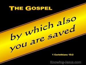 1 Corinthians 15:2