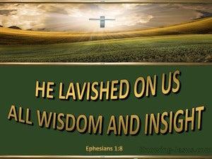 Ephesians 1:8