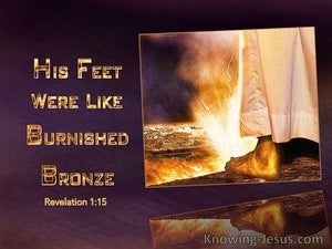 Revelation 1:15