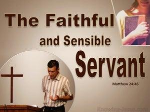 Matthew 24:45