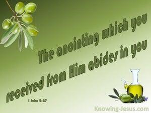 1 John 2:27