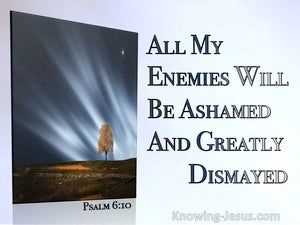 Psalm 6:10