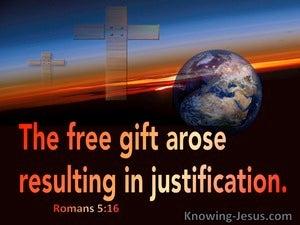 Romans 5:16