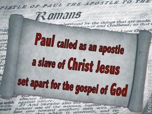 Romans 1:1