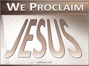 Colossians 1:28