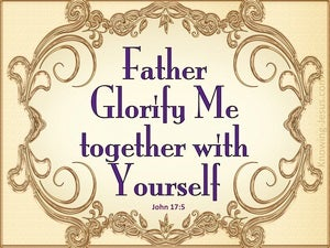 John 17:5