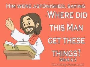 Mark 6:2