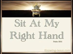 Psalm 110:1