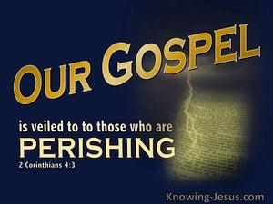 2 Corinthians 4:3
