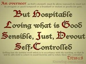 Titus 1:8