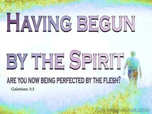 Galatians 3:3