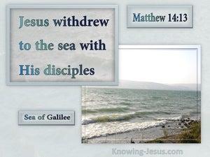 Matthew 14:13