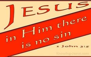 1 John 3:5