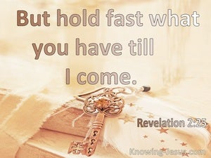 Revelation 2:25