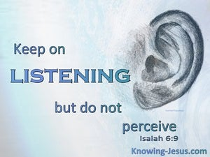 Isaiah 6:9