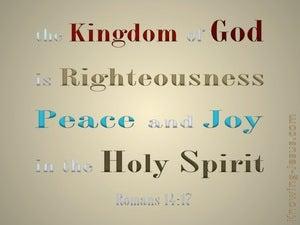 Romans 14:17