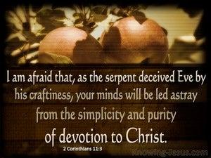 2 Corinthians 11:3