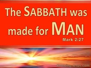 Mark 2:27