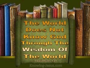 1 Corinthians 1:21
