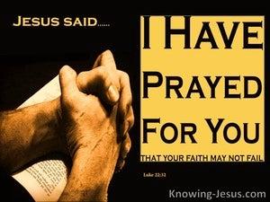 Luke 22:32
