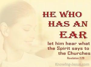Revelation 2:29