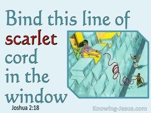Joshua 2:18