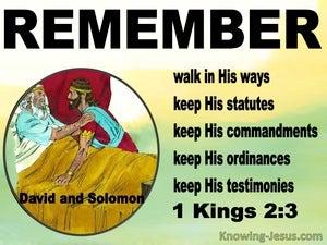1 Kings 2:3