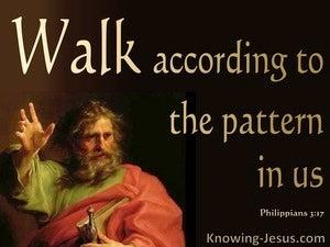 Philippians 3:17