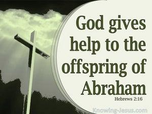Hebrews 2:16