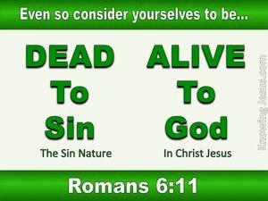 Romans 6:11