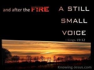 1 Kings 19:12