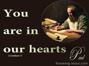 2 Corinthians 7:3