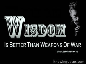 Ecclesiastes 9:18