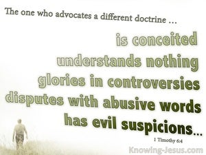 1 Timothy 6:4
