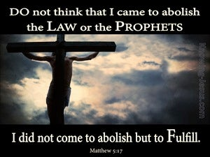 Matthew 5:17