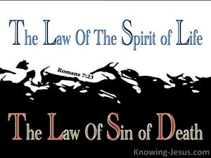 Romans 7:23